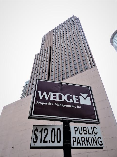 WEDGE Properties Management, Inc. - Logo - Parking Lot signage