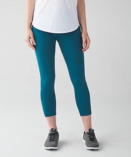 lululemon pace-rival-crop tofino-teal
