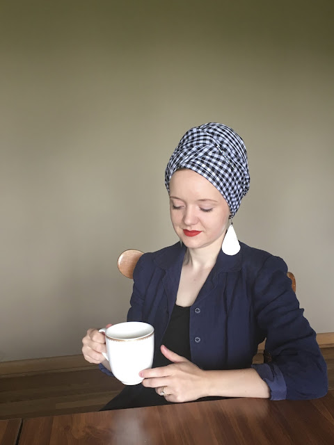 Flashback Summer: Turbanista, 1940s 1950s vintage