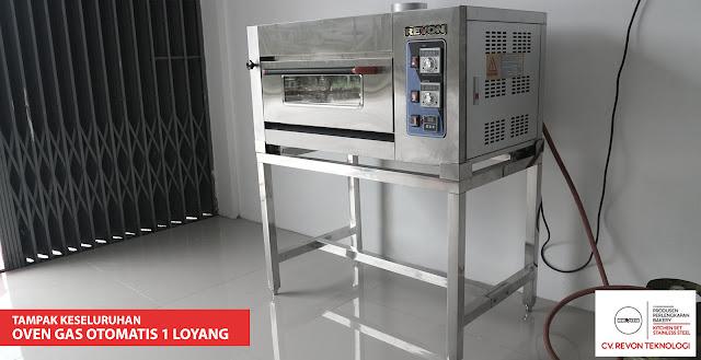 Oven Gas Otomatis 1 Loyang (Oven Import - Sistem otomatis)
