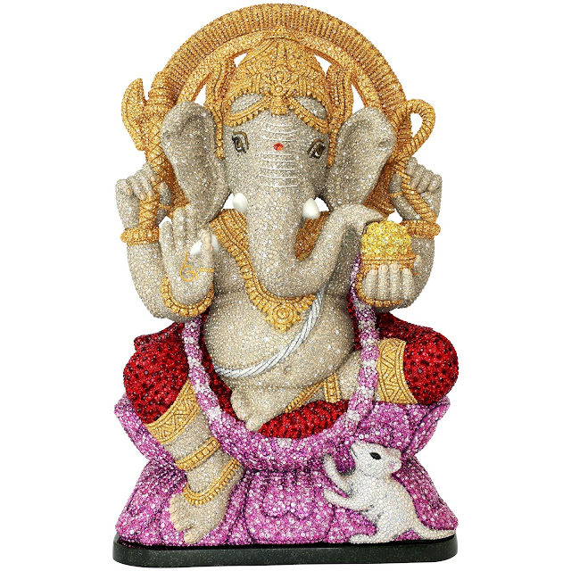 SWAROVSKI INTRODUCES GANPATI FIGURINE