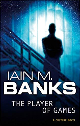 Book cover for Iain M Banks's The Player of Games in the South Manchester, Chorlton, and Didsbury book group