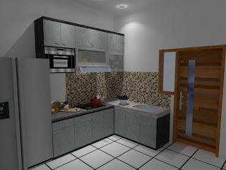 kitchen set minimalis di jakarta