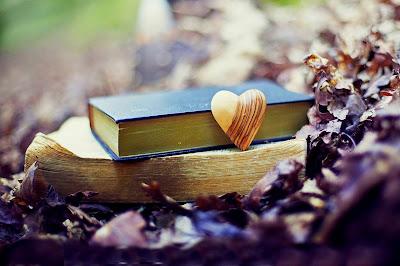 heart book woods