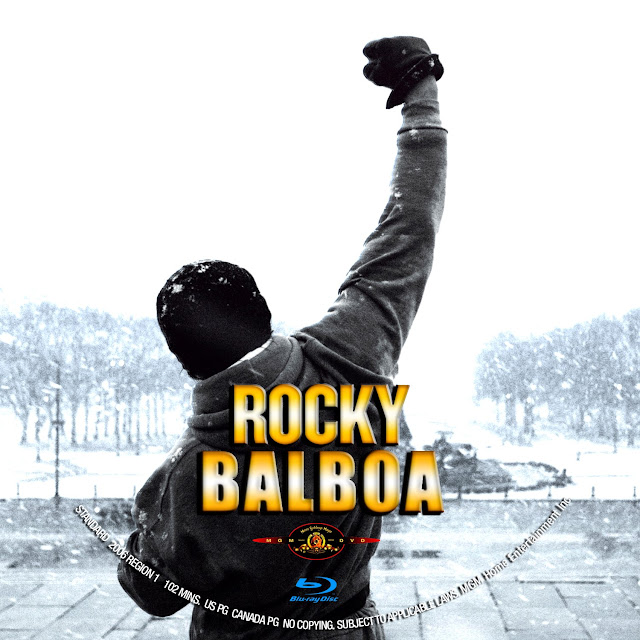 Rocky Balboa Bluray Label