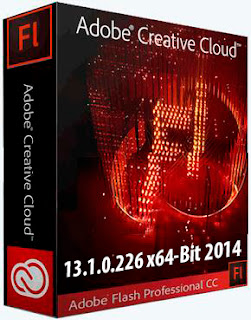 Adobe Flash Professional CC 13.1.0.226 x64 Bit 2014 Box