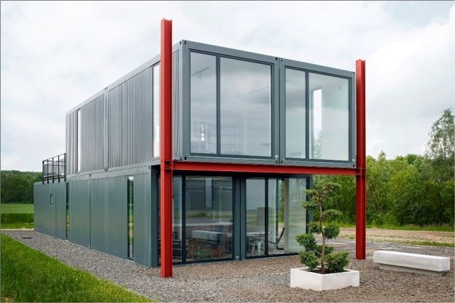 modular container home vs container home container home