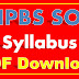 IBPS SO Syllabus 2017 PDF IBPS Specialist Officer (IT, Agricultural) Syllabus Download