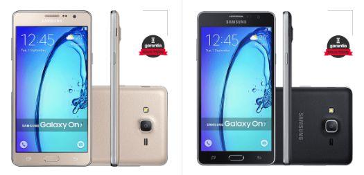 Comprar Smartphone Samsung Galaxy On 7 Dual Chip Android em Promoção