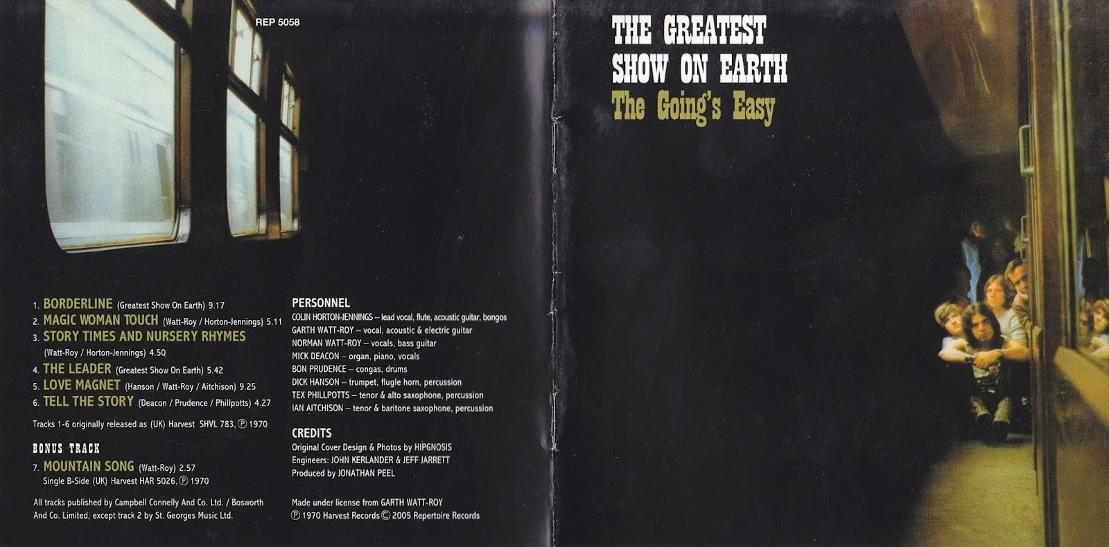 Pink Floyd Ilustrado 1970 The Going S Easy The Greatest