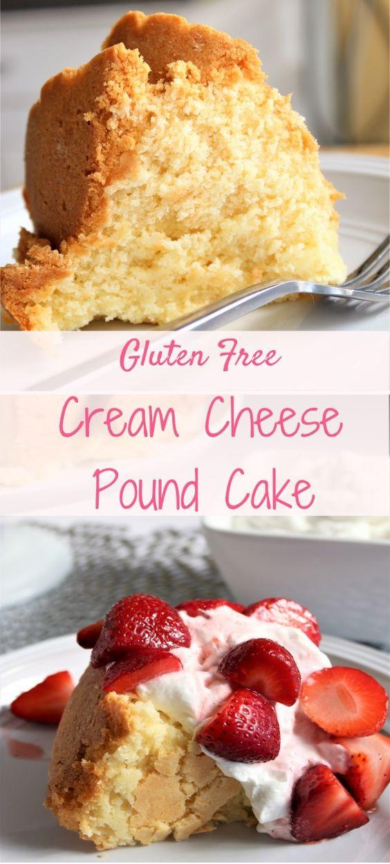 Gluten Free Cream Cheese Pound Cake