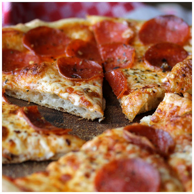 How to Make Basic Pepperoni Pizza with Overnight Dough Using the Two Stone Method