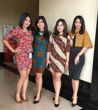 baju batik 2019