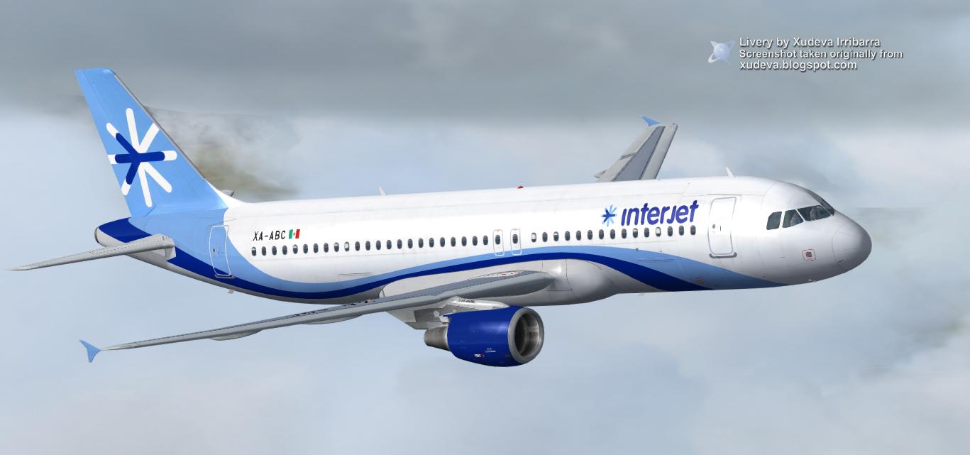Airbus a320 Interjet Fsx