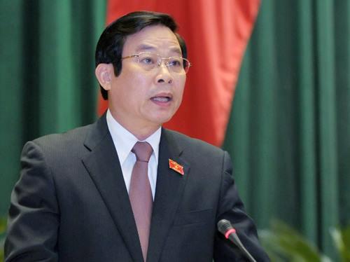 Ông Nguyễn Bắc Son, nguyên Bộ trưởng Thông tin Truyền thông