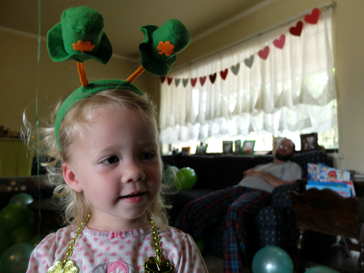 leprechaun bobble headband