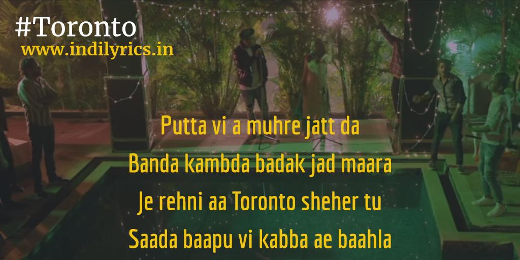 Toronto   Jass Manak ft  Priya   Full Punjabi Song Lyrics with