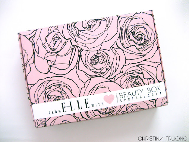 Elle Canada Spring 2014 Beauty Box Unboxing Review