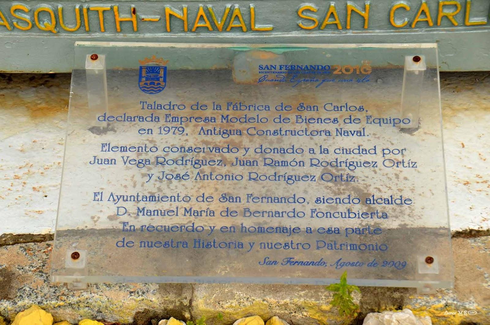 La Historia de La Isla en sus Placas: 2017