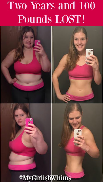 http://www.mygirlishwhims.com/2016/01/100-pounds-down-weight-loss-goal-met.html