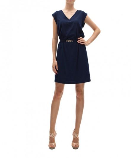 fd4578a4eb280 koton siyah kemerli elbise klasik kesim elbise