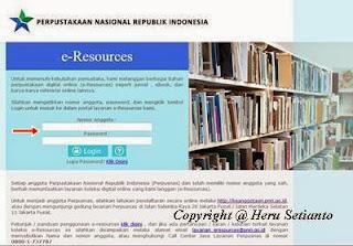 Cara Download Jurnal di E-Resources, langkah-langkah download jurnal di website Perpustakaan Nasional Republik Indonesia, cara dowload artikel di website PNRI