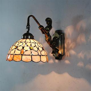 Luminária de Parede Sereia