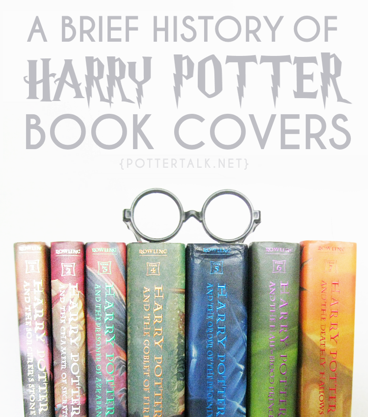 Harry Potter Book Covers Timeline