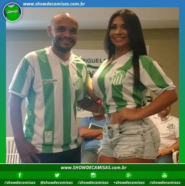 5fc9ff6561259 Miguelense apresenta nova camisa titular - Testando Novo Site