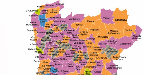 vimioso mapa Do Portugal Profundo: Balanço das eleições autárquicas e suas  vimioso mapa