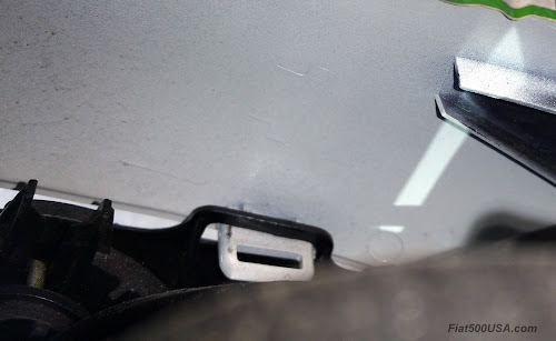 Fiat 500X Mirror Cover Attachment Clip