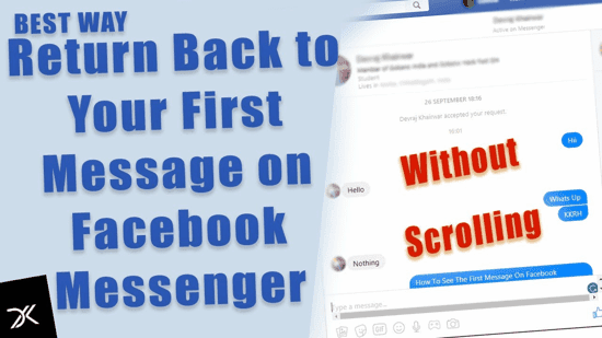Return Back to FB Message