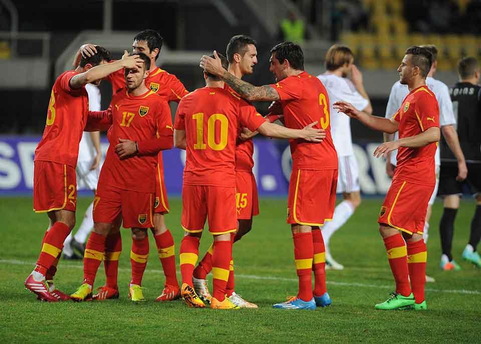 Fussball Mazedonien Mit Freundschaftsspiele Gegen Finnland Und Aserbaidschan