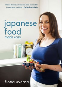 "Fiona's cookbook ""Japanese Food Made Easy"""