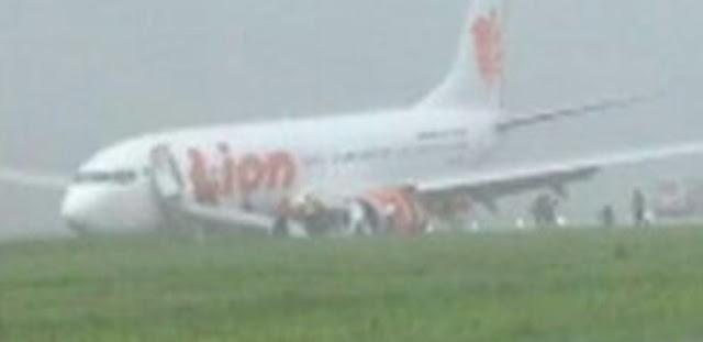 Gara-gara Lion Air Tergelincir, Bandara Supadio Ditutup, Begini Dampaknya