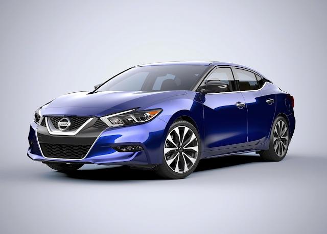 2016 Nissan Maxima blue
