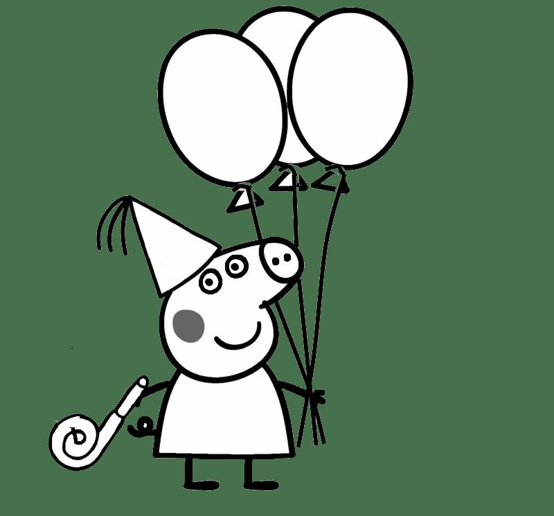 Desenhos Da Peppa Pig Para Colorir E Imprimir Desenhos