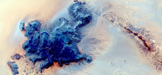 blue island,abstract landscapes of deserts of Africa ,Abstract Naturalism,abstract photography deserts of Africa from the air