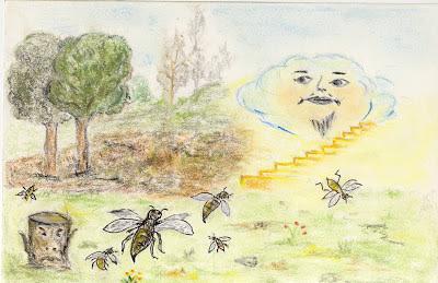 fabula zeus y las abejas