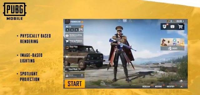 PUBG Mobile New Era 1.0: Karakter iyileştirmeleri, yükseltilmiş grafikler, yeni lobi, kullanıcı arayüzü ve daha fazlası