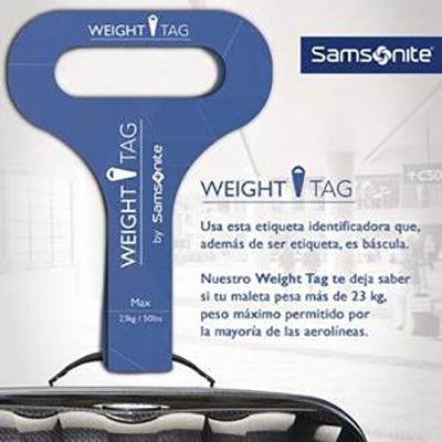 Samsonite-Leones-Bronce-Weight-Tag