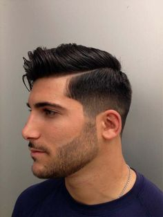 Great Low Bald Fade Comb Over