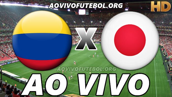Assistir Colômbia x Japão Ao Vivo HD