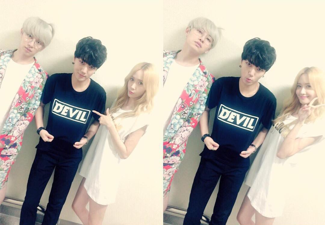 Pic Super Junior s ex- GIRLFRIENDs