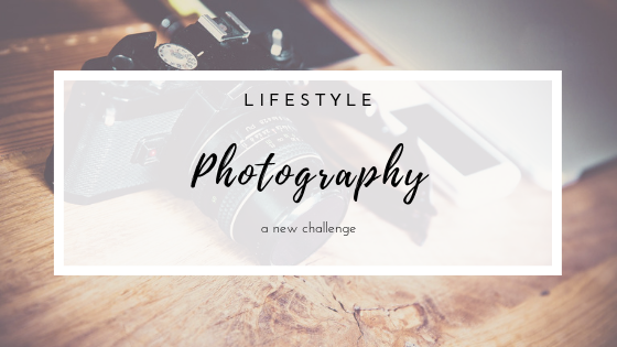 A new photography challenge - Lifestyle post.