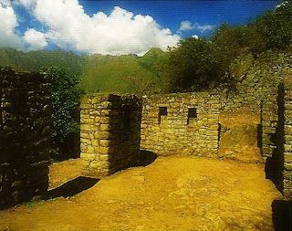 Recinto do Inti Punku ou Porta do Sol, Machu Picchu