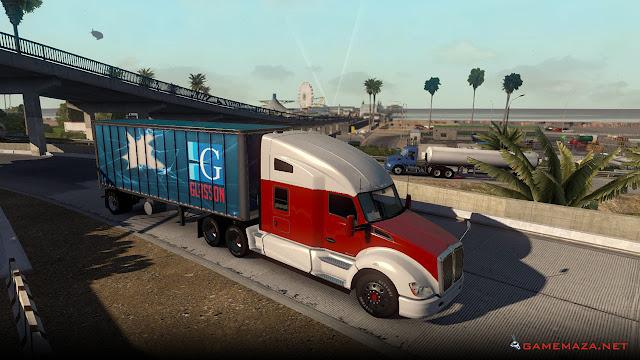 American Truck Simulator Gameplay Screenshot 3