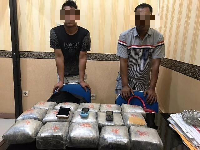 Oknum Polisi dan Rekannya Bawa 15 Kg Sabu, Diduga Jaringan Narkoba Internasional