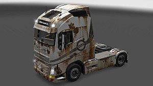 Volvo 2013 Rusted skin pack
