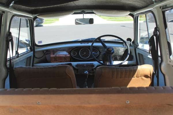 Austin Mini Traveller Wagon Interior on Alfa Romeo Spider Veloce